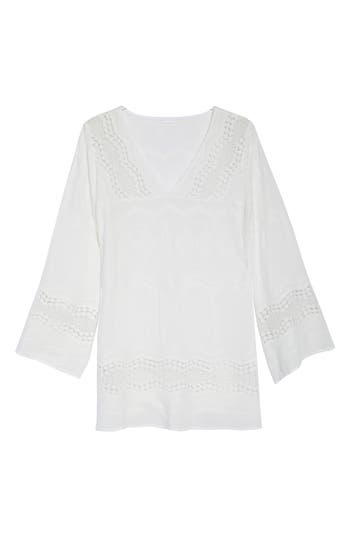 La Blanca Cover-Up Tunic, White