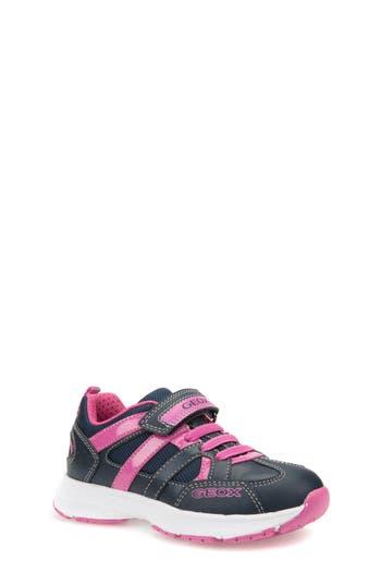 Girls Geox Top Fly Sneaker Size 65US  40EU  Blue