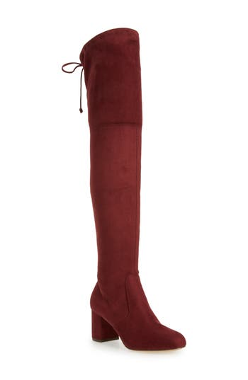 Charles By Charles David Owen Over The Knee Boot, Purple