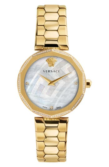 Women's Versace Idyia Diamond Bracelet Watch, 36Mm