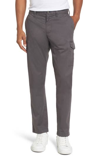 Nordstrom Shop Regular Fit Cargo Pants, Grey