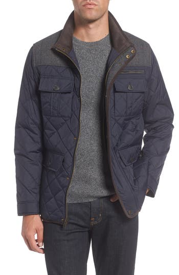 Vince Camuto Diamond Quilted Full Zip Jacket, Size - (Online Only)