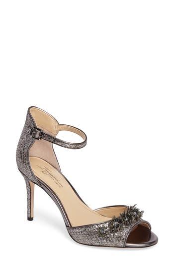 Imagine By Vince Camuto Prisca Embellished Sandal, Grey