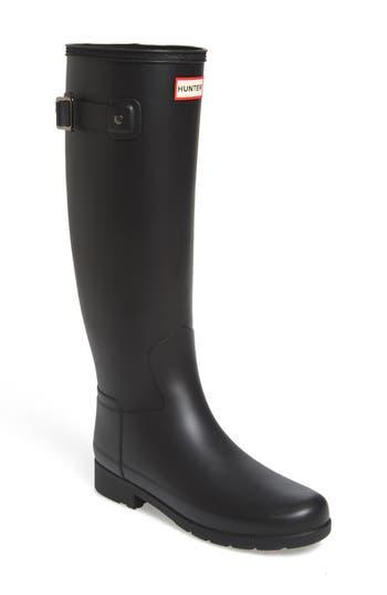 Hunter Original Refined Rain Boot, Black