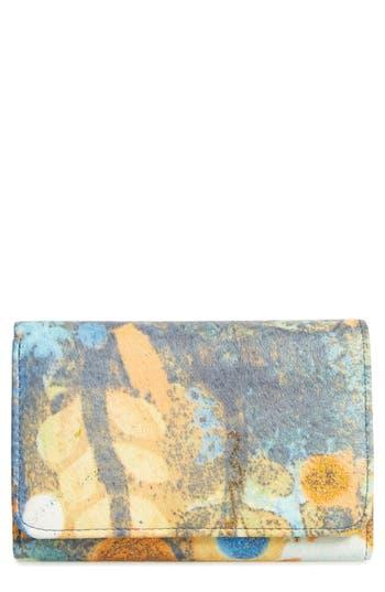 Women's Hobo 'Jill' Trifold Wallet - Blue