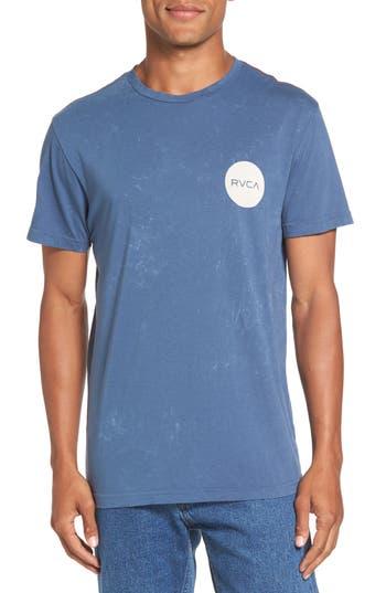 Rvca Motors Logo Graphic T-Shirt, Blue