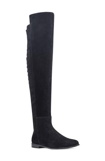 Nine West Eltynn Over The Knee Boot, Black