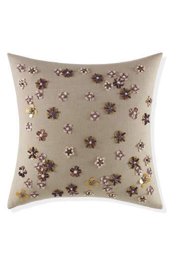 Kate Spade New York Scatter Blossom Accent Pillow, Size One Size - Beige