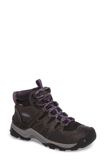 Keen Gypsum Ii Mid Waterproof Hiking Boot- Grey