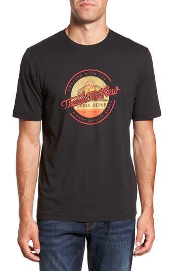 Travis Mathew Califormed Graphic T-Shirt, Black