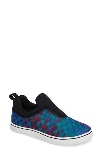 Bernie Mev Joan Slip-On Sneaker, Blue
