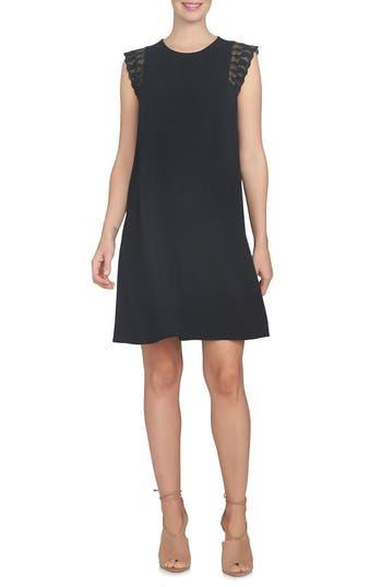 Cece Lace Sleeve Shift Dress