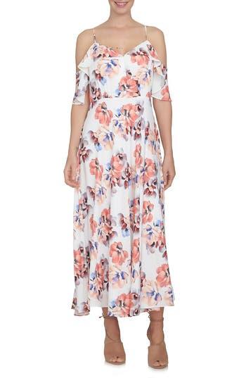 Cece Off The Shoulder Maxi Dress