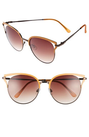 Women's Bp. 55Mm Colored Round Sunglasses -