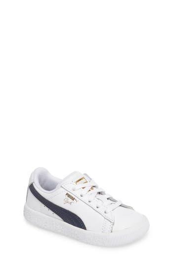 Boys Puma Clyde Core Foil Sneaker