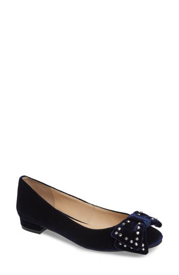 Vince Camuto Annaley Flat- Blue