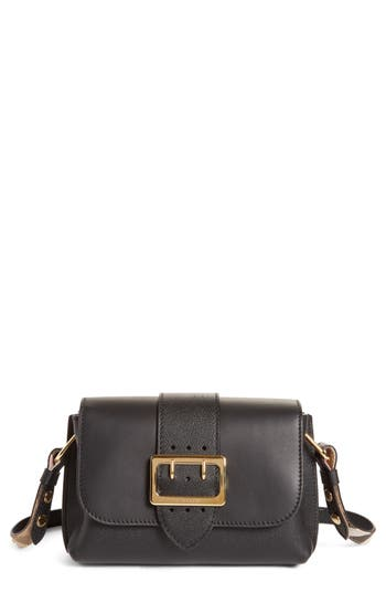 Burberry Small Buckle Leather Satchel -