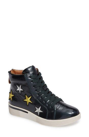 Gentle Souls Helka Star High Top Sneaker, Green