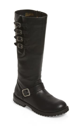 Girl's Frye Veronica Tall Buckle Strap Boot