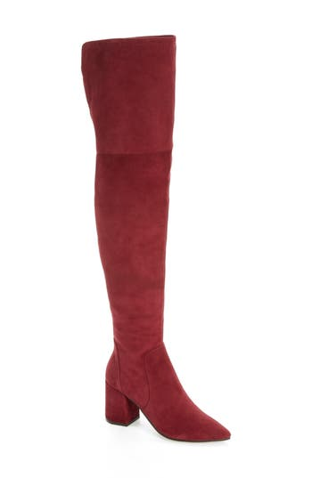 Linea Paolo Bella Over The Knee Boot, Burgundy