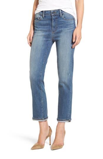 Women's Paige Transcend Vintage - Jacqueline High Waist Ankle Straight Leg Jeans