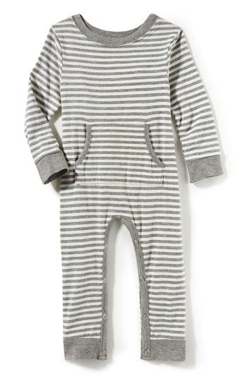 Infant Girls Peek Stripe Romper