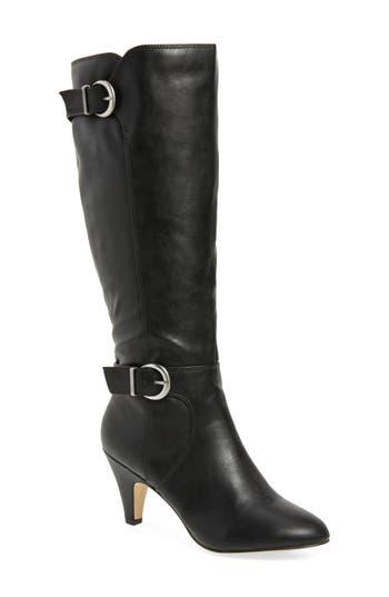 Bella Vita Toni Ii Knee High Boot, Wide Calf- Black