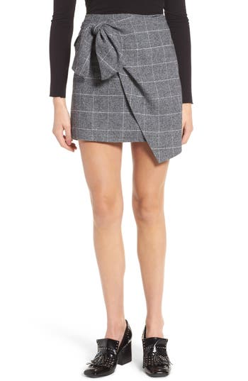 Women's Leith Faux Wrap Miniskirt