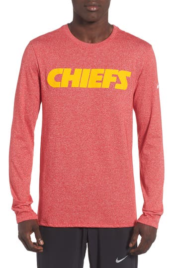Nike Nfl Graphic Long Sleeve T-Shirt, Pink