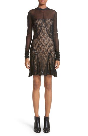 Alexander Wang Lace Dress, Black