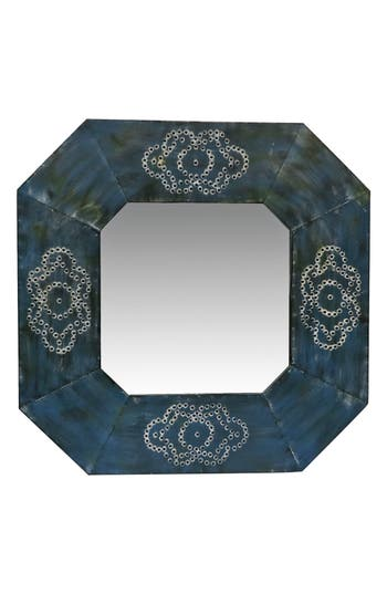 Foreside Memphis Mirror, Size One Size - Blue/green