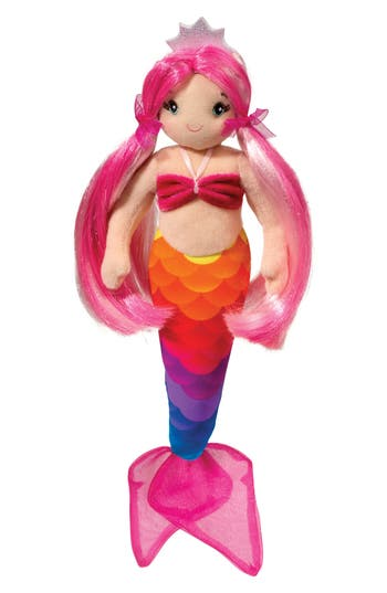 Infant Girls Douglas Arissa Rainbow Mermaid Doll
