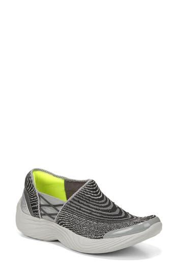Bzees Tiger Slip-On Sneaker, Grey