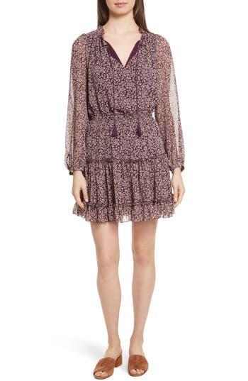 Rebecca Minkoff Rosemary A-Line Dress, Purple