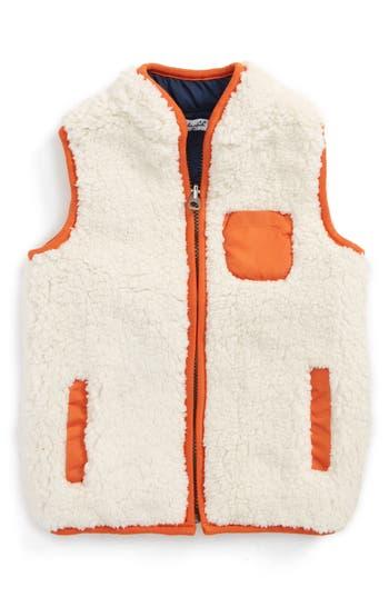 Toddler Boy's Splendid Reversible Faux Shearling Vest