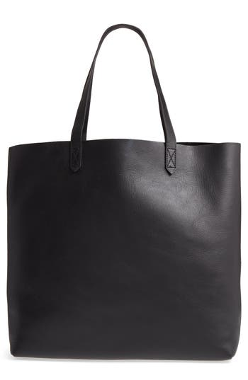 Madewell 'The Transport' Leather Tote - Black