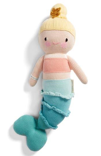 Infant Girl's Cuddle + Kind Skye The Mermaid Knit Doll