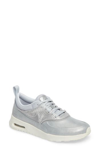Nike Air Max Thea Premium Sneaker- Metallic