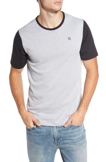 Hurley Lagos Snapper Dri-Fit T-Shirt, Grey