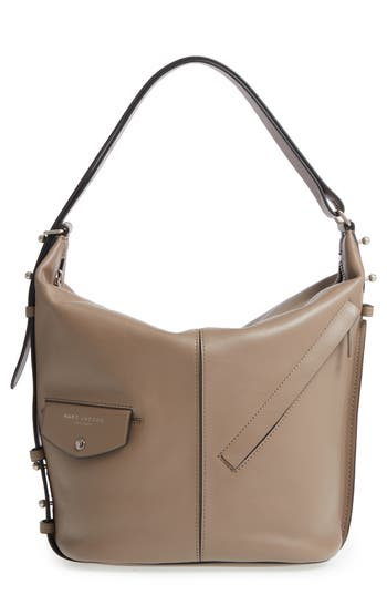 Marc Jacobs The Sling Convertible Leather Hobo - Brown