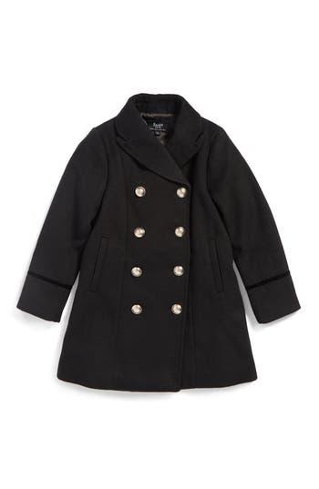 Girl's Bardot Junior Military Coat, Size 4T US / 4 AUS - Black
