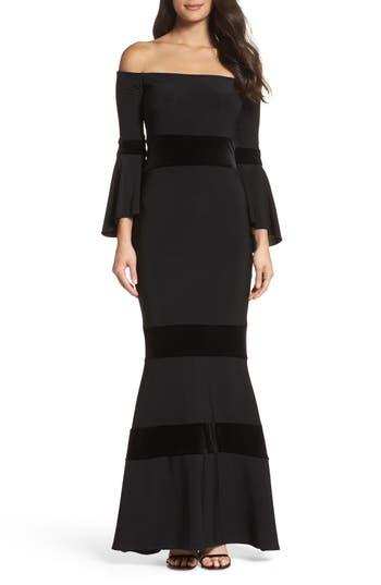 0834c101 UPC 808593685723. ZOOM. UPC 808593685723 has following Product Name  Variations: Xscape Velvet Bell Sleeve Dress; Women's Xscape Velvet Trim ...