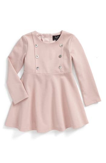 Bardot Junior Girls Dress with Decorative Buttons  Baby