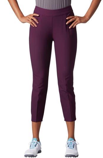 Women's Adidas Adistar Ankle Pants, Size Small - Purple