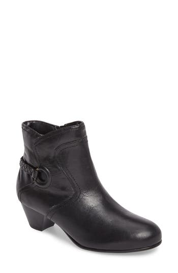 David Tate Chica Ankle Boot, Black
