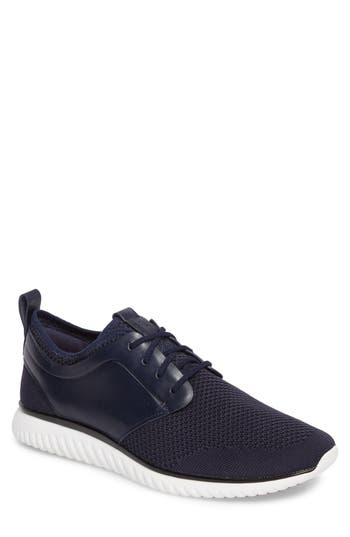 Cole Haan 2.zero Grand Motion Knit Oxford, Blue
