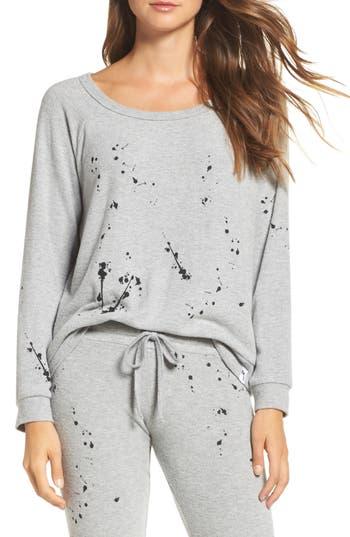 Women's Michael Lauren Kenny Splatter Lounge Sweatshirt at NORDSTROM.com