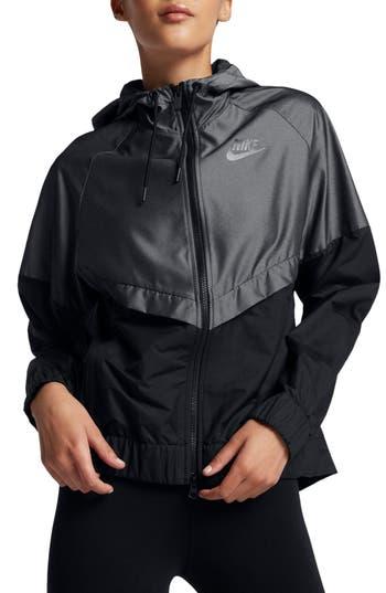Nike Windrunner Jacket, Black