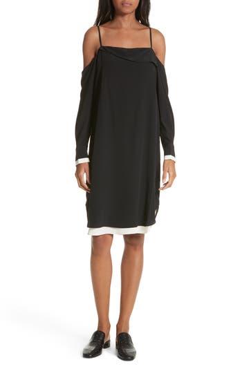 Rag & Bone Karley Silk Dress, Black