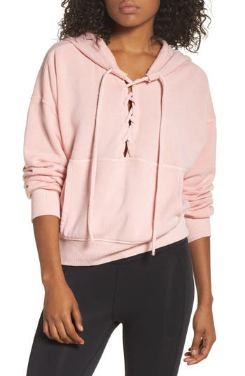 Free People Fp Movement Believer Hoodie, Pink